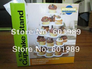 5 Tier CUPCAKE DESSERT HOLDER STAND Cake Muffin Wedding Birthday Party  Kitchen Bakeware Tool