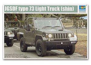 Trumpeter model 05520 1/35 JGSDF type 73 Light Truck shin model kit(China (Mainland))