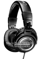 Free shipping 2012 new hot selling ! M-50 earphone M-5-0 Headphone M-50 M50s with box package promotional products