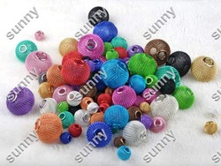 150X Mixed Acrylic Charms Spacer Beads Rhinestone mesh beads Fit Shambala Bracelets [bd26 M*150](China (Mainland))