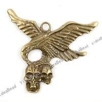 Wholesale 8pcs New Arrival Antique Bronze charm pendant  Fit Necklaces, handmadke Crafts 140948