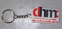DHL Free Shipping-PVC keychain with customized logo and custom shape;PVC keyring;customizing gifts