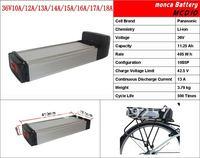 Free Shipping E Bike Battery Pack Electric bicycle conversion kits LiFePo4 Battery 36V 10A MCD10