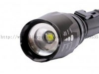SA-T68 CREE T6 LED 1600 Lumen 5-Modes Aluminium Flashlight Torch Waterproof Adjustable Focus flashlight