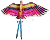 HUGE 3D PARADISE BIRD KITE TOY CRAFTS HOME FOLK ART DECOR