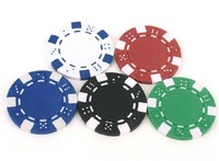 Clay Composite chips 11.5-Gram Poker chips,choose from 5 color Texas Holder'em /Baccarat /Blackjack