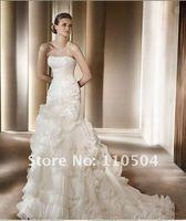 W69 Fashion hot sale strapless wedding dress