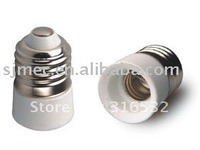 250v E27 to E14 lamp base adapter,ceramic lamp shades