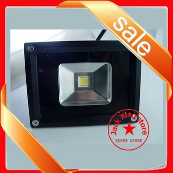Deluxe 10W White LED waterproof FloodLight 85-265V Outdoor Garden Xmas light USA
