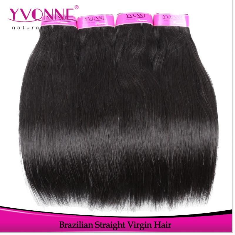 Straight Virgin Brazilian Hair Weave 25