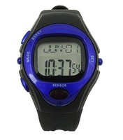Sporty Watch Blue with Calorie Counter Pulse Heart Rate Monitor for women and men 31636 FREE SHIPPING