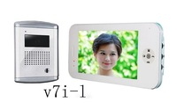 "Hot 7"" color handfree video Door phone (V7I-l)"