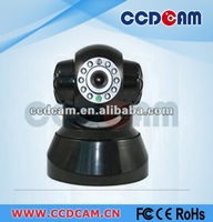 M-JPEG Pan Tilt Rotation IR CCTV Network IP Dome Camera, Video IR Surveillance wireless ip Camera with 2 way audio EC-IP2541W