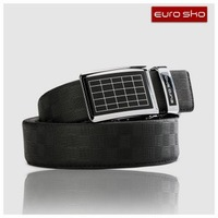 Retail&wholesale classic 3.5cm man style genuine leather belt with high quality automatic buckle,new cowhide waist belt for men
