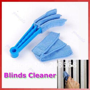 D19+Microfibre Detachable Blinds Window Triple Slats Car Air Conditioner Cleaner