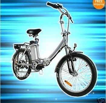 "20"" ELECTRIC Folding Bike, Bicycle w/ 36V Li-ion Batt"