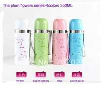 Genuine vacuum cup thermal mug Ladies Men Kids insulation thermos cup holding water bottles good gift-350ML