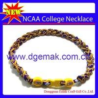 NCAA Women's College Sports Titanium Necklaces & Pendants Of LSU Tigers