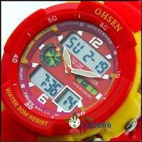 половина skelet механизированными Мужские Часы золотой цвет $14 больше скидка для большой qty, контакты, чтобы уменьшить цену wy8053