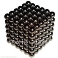 Free Shipping! Best Selling! size: 5mm 216pcs/set with box/Buckyballs,Neocube,Magnetic Balls/ color:black