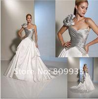 2012 new hot fashion satin shoulder to spend Valentine's neck decals line trailing wedding