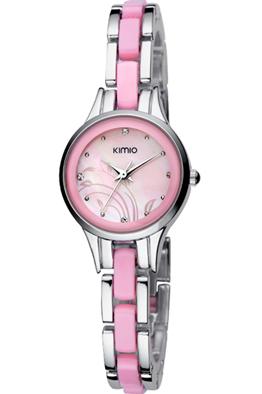 New model kimio brand quartz wrist watch ladies watch girl watch free