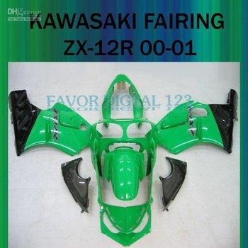 CMF247 ZX12R ZX 12R 00 01 FAIRING ZX-12R 00-01 for KAWASAKI