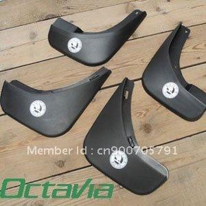 4pcs Kit Mud Flaps Splash Guard Fit For Skoda Octavia Sedan 09-12