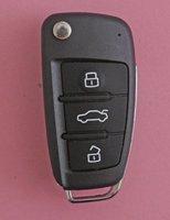2013 for Brazil Positron car alarm remote control key (forAudi 3 button style) 433.92mhz