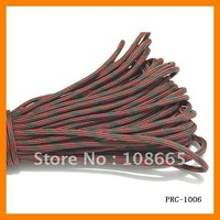 Free Shipping Military & Camping cord 100FT (31M) 50 Colors  108pcs/lot PRC-1006