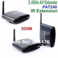 High product!!!AV Sender &IR Remote Extender Wireless Transmitter 1 transmitter+2 receivers PAT240