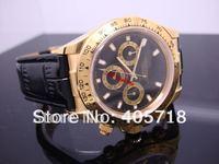 Free Shipping -  100% Brand New Automatic Movement Daytona Men's Watches Luxury Mens Watch Wristwatch RO-005