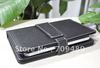 Promotion cheap USB Keyboard Leather Case Protective Cover for 7 inch Tablet PC Epad Apad 20pcs/lot