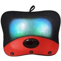 Free shipping! Magic ball kneading tapping heated massage neck, waist massage pillow