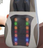 Free shipping! Thai-style open back machine kneading heated massage massage cushion the neck, waist movements massage pad