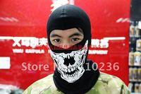 Wholesale Free shipping Longer seals warm mask The face mask motorcycle put skeleton cotton hoods mask Breathable mask