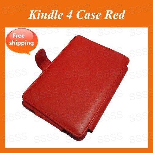 Новый красный пу кожаный чехол для