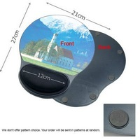 Free Shipping Hot Wrist Rest Gel Like Ergonomic Plastic MousePad Mice Pad Wholesale E02020040