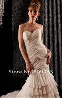 2012 new fashion classic sweetheart neckline mermaid wedding