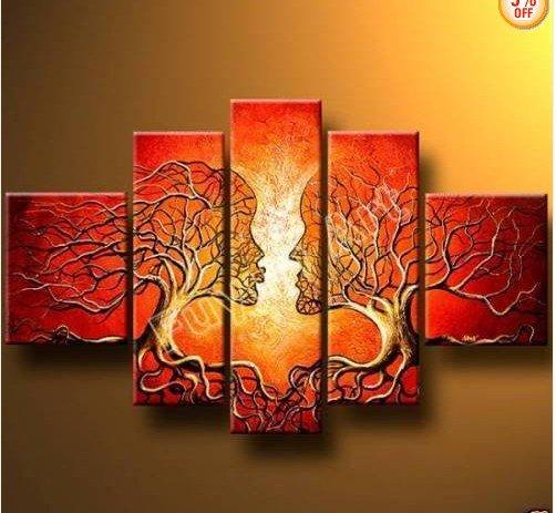 Pinturas abstractas de amor - Imagui