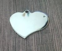 Hot sale  3.5*3.2cm stainless steel       dog  ID Tags