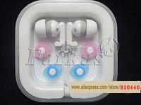 Free shipping  3.5mm in-ear earphone headphone  for mobile phones mp3 player with Retail packaging 50pcs/lot