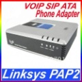 Free shipping New Linksys PAP2 VOIP SIP ATA Phone Adapter pap2+Tracking No.