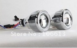 "New Arrivals!High Quanlity Free Shipping 12V 2.5"" HID BI-Xenon projector HALO lens CAR HEAD light T228 wholesale and retail"