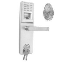 Access Code Dead Bolt FingerPrint Door Lock - Right Hand Version