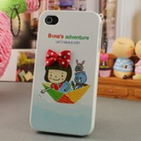 Best Seller!!! Free Shipping New Fashion Design 1PCS Snap-on Hard Case Back Skin Cover for iphone4 4G 4th 4S
