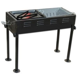 """Promotional"" portable thickening charcoal bbq grill/ outdoor barbeque grill/ 2 use, 1pcs free shipping(China (Mainland))"