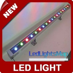 free shipping 18W LED Wall Washer Light lamp RGB Lighting 85~265V [LedLightsMap](Hong Kong)