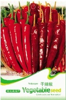 Free Shipping 3 Bags of  Redpepper seeds, Vegetable seeds*30 Seeds per Bag