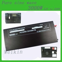 Meind Pure Sine Wave Power Inverter 3000W DC 12V to AC 220V power converter for solar power system